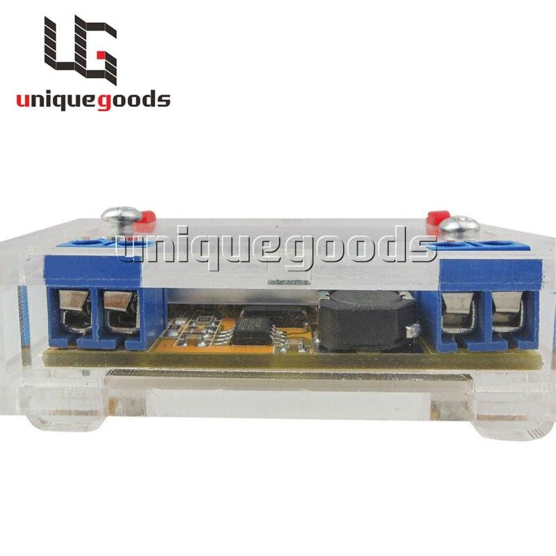 Volts Convert Transformer Voltage Stabilizer Ammeter Voltmeter Volt Amp Adjustable Module With LCD Display With Housing Case