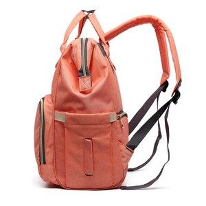 Image 4 - Fashion Brand Large Capacity Baby Bag Travel Backpack Designer Nursing Bag for Baby Mom Backpack Women Carry Care Bags