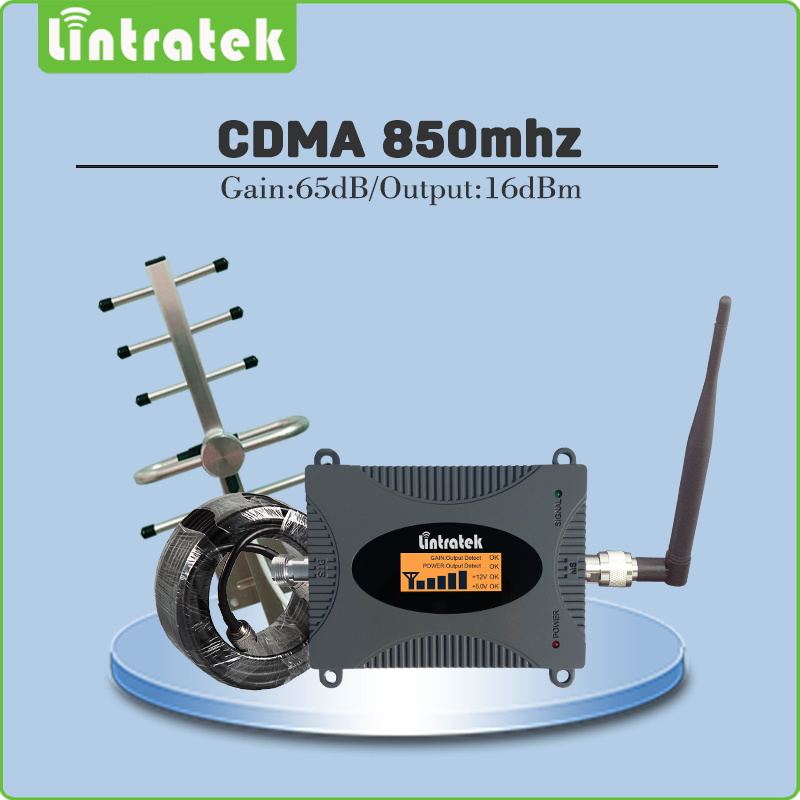Gain 65dB CDMA Signal Repeater LTE Band 5(850mhz CDMA) Signal Amplifier CDMA 850MHz Mobile Phone Signal Booster full set @7Gain 65dB CDMA Signal Repeater LTE Band 5(850mhz CDMA) Signal Amplifier CDMA 850MHz Mobile Phone Signal Booster full set @7