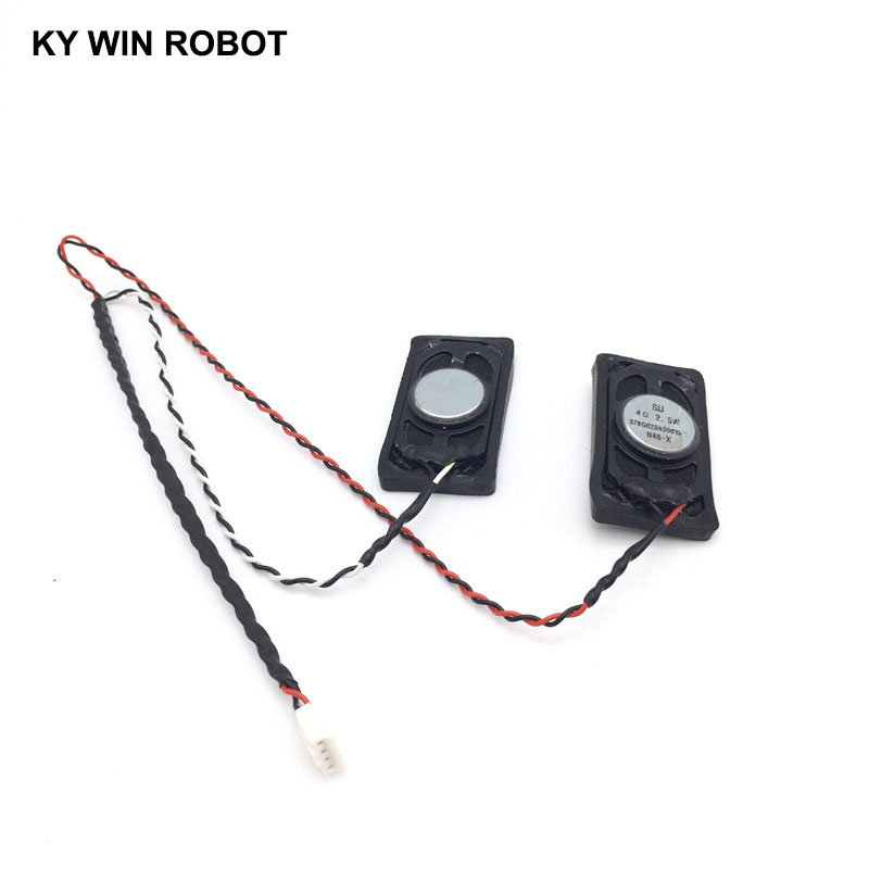 1 pair Notebook Speaker Horn 2 5W 4R 2040 4020 Loud speaker 4 ohms 2 5 Watt 4R 2 5W 20 46MM in Acoustic Components from Electronic Components Supplies