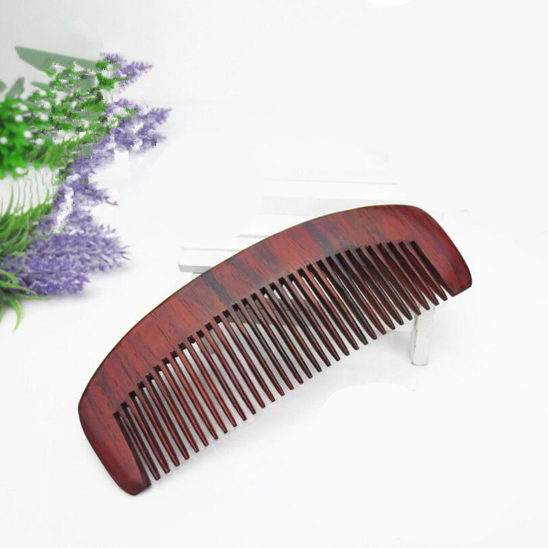 5pcs Natural Laos red woods Comb for hair head Massage Wide Tooth No-static Hair Brush Wooden Combs long peine hairbrush massage