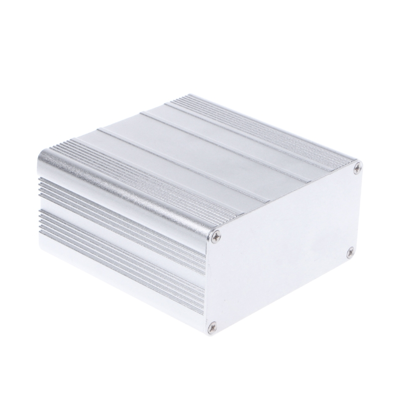 DIY Aluminum Enclosure Case Electronic Project PCB Instrument Box 100x100x50mm L15 1pc electronic project instrument box black aluminum enclosure case 100x66x43mm mayitr with corrosion resistance