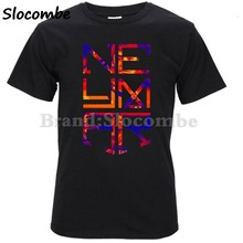 ac454602b5e 2018 Summer Neymar Jr Logo Barcelona Fc Men's T-Shirt compression t shirt  survetement footbal