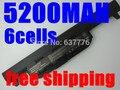 5200 МАЧ аккумулятор для ноутбука asus A32 K55 А33-K55 A41-K55 A45 A55 A75 K45 K55 K75 R400 R500 R700 U57 X45 X55 X75 batteria акку