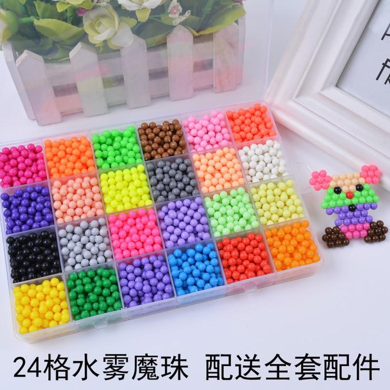 Puzzles brinquedos hama beads perler beads Product Name : Aqua Bead