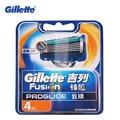 Gillette fusion proglide flexball marcas de afeitar cuchillas de afeitar cuchillas de afeitar 4 pcs