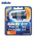 Gillette fusion proglide flexball marcas de barbear lâminas de barbear lâminas de barbear 4 pcs