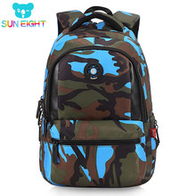 c9a2ccc1c54 SUN EIGHT Causual Camouflage Men Backpack Bag Travel Backpack Bags For Cool  Boy Military School Bags