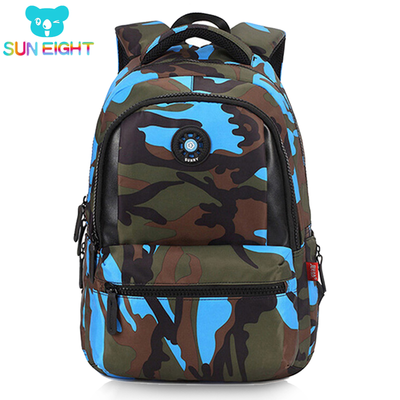 Kid Backpack Camouflage Men Backpack Bag Travel Backpack Bags For Cool Boy Military School Bags For Boy Out Side