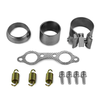 UTV Exhaust Muffler Repair Kits For Polaris RZR S 800 EFI 2012 2013 2014