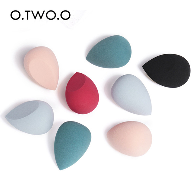 Fashion Heart Box Sponge Cosmetic Puff Water Drop Soft Sponge Makeup Puff For Foundation Powder Cream Concealer Make up Tool 5
