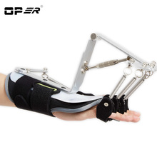 OPER Adjustable Finger Wrist Orthotics Exerciser Rehabilitation Device For Cerebral Infarction Thrombosis Stroke hemiplegia WH62 anti spasticity finger glove rehabilitation training auxiliary finger hand recovery grip splint for stroke hemiplegia patient