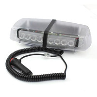 12v LED Emergency Recovery Strobe Flashing Light Bar Magnetic Beacon