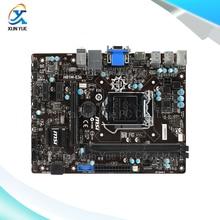 MSI H81M-E34 Оригинальный Б H81 Настольных Материнских Плат Socket LGA 1150 DDR3 i3 i5 i7 16 Г SATA3 USB3.0 Микро-ATX