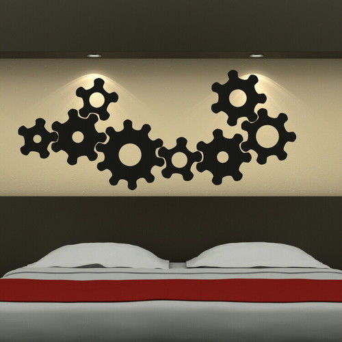Unique Mechanic Gear Adhesive Vinyl Decal Wall Art Stickers Home  Decor(China (Mainland)