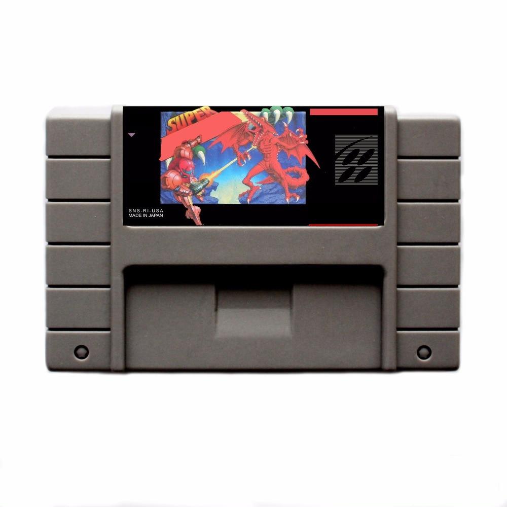 Super Me 16 bit Big Gray Game Card For USA NTSC Game Player
