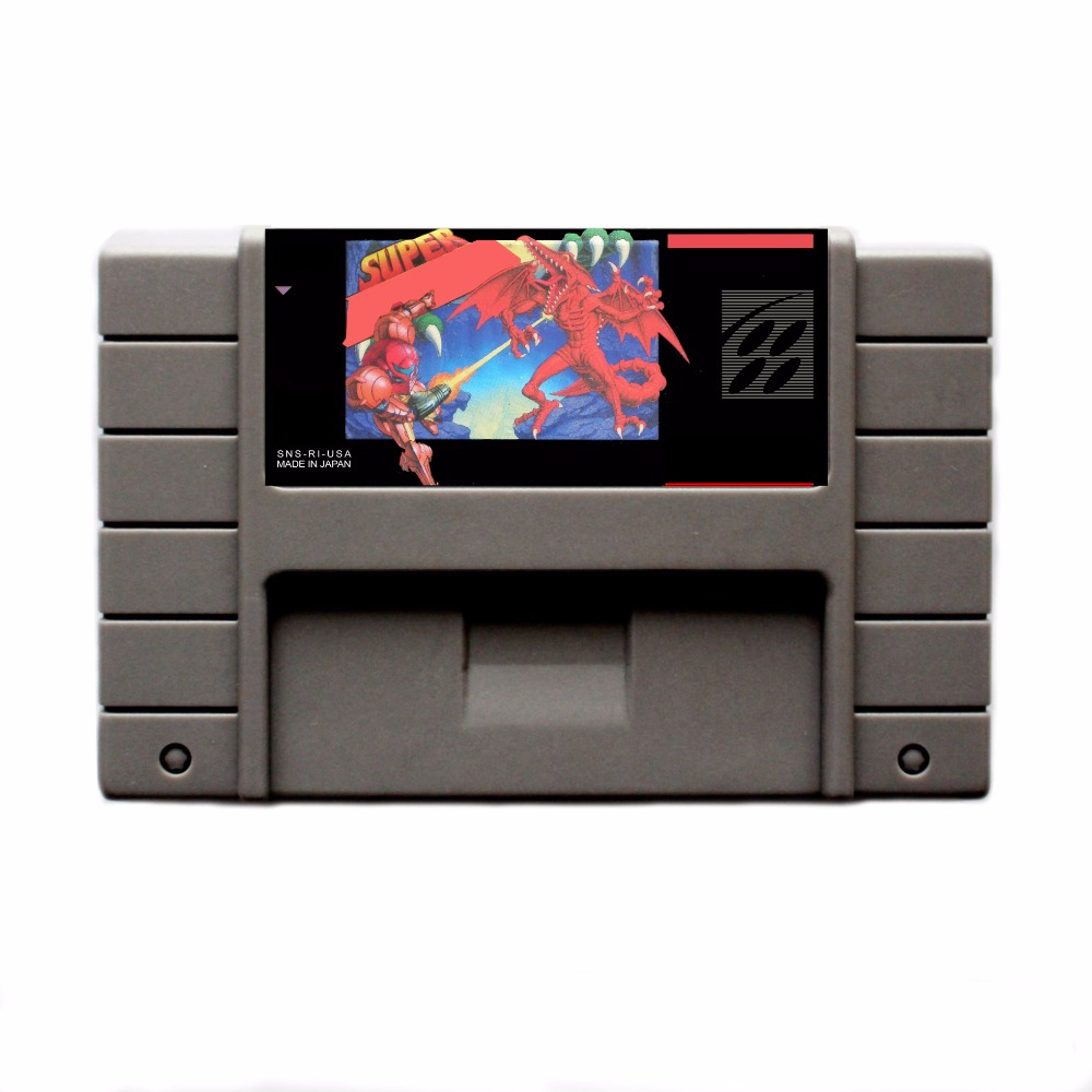 Super Me 16 bit Big Gray Game Card For USA NTSC Game Player
