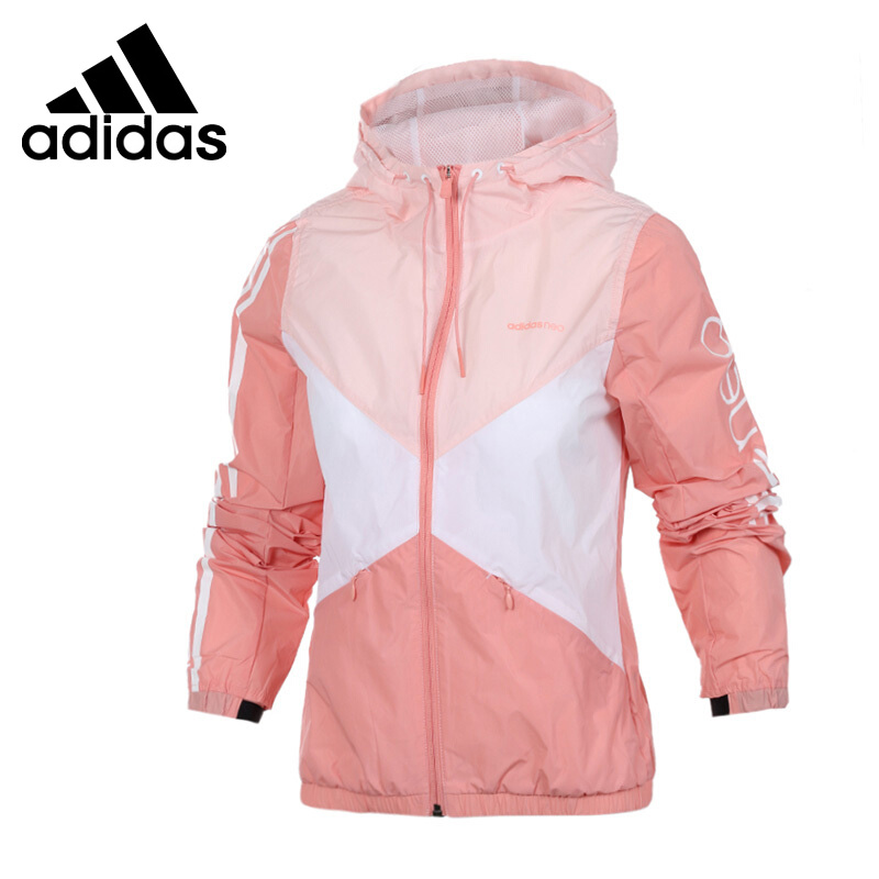 Original New Arrival 2017 Adidas NEO Label W COLORBLOCK WB Women's jacket Hooded Sportswear 694 ceramic bearing 4x11x4 zirconia zro2