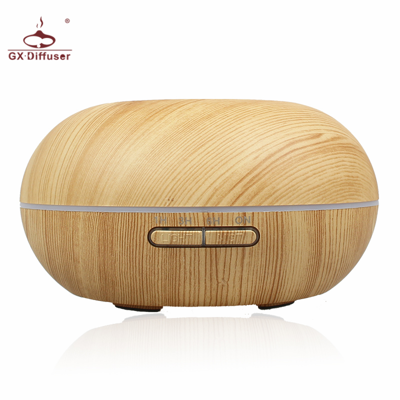 GX.Diffuser 300ML Color Changing Ultrasonic Air Humidifier Aromatherapy Essential Oil Diffuser Electric Aroma Diffuser Mist Make hot sale humidifier aromatherapy essential oil 100 240v 100ml water capacity 20 30 square meters ultrasonic 12w 13 13 9 5cm
