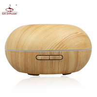GX Diffuser Colors Changing Ultrasonic Air Humidifier Aromatherapy Essential Oil Diffuser Home Electrci Aroma Diffuser Mist