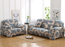 Floral Series beauty printed better decorations Sofa slip Cover Tightly All-inclusive Wrap 1/2/3/4-Seat