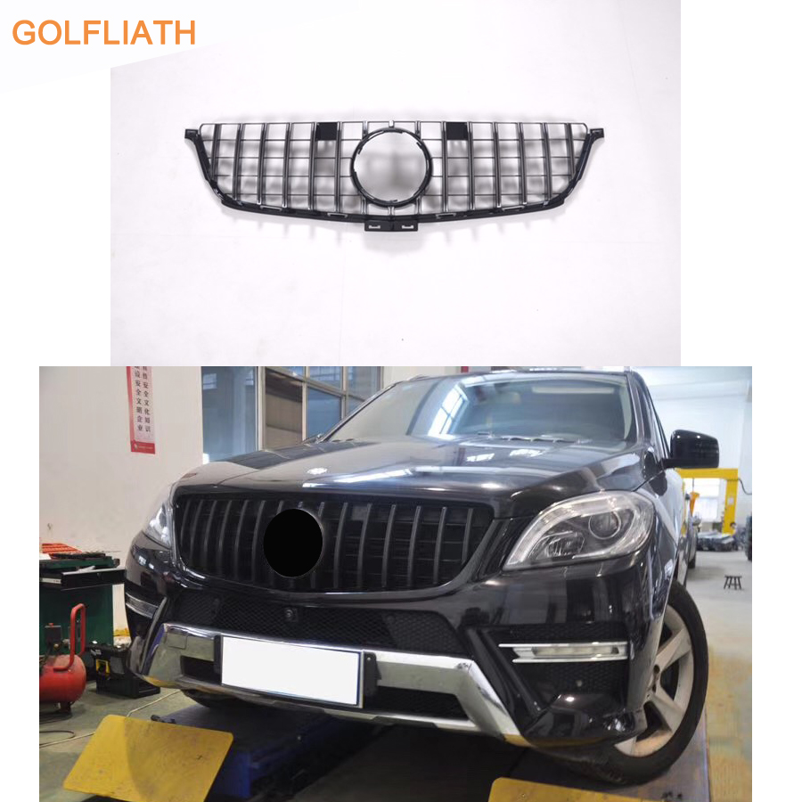For Mercedes Benz ML Class W166 AMG GT R grille Front Grille FOR ML class ML250 grille