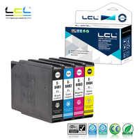 LCL 04B1 04B2  C13T04B140  (4-Pack KCMY )  Ink Cartridge pigment Compatible for WorkForce Pro C 8610 DWF WorkForce Pro WF C 8690