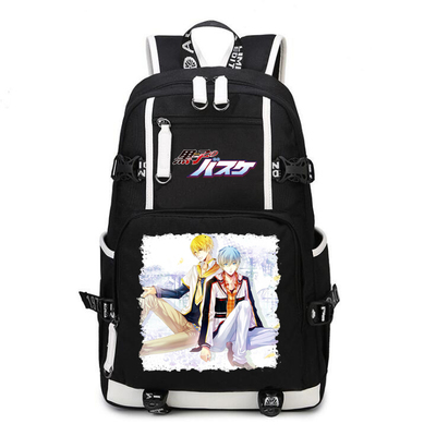 Kurokos Basket ball Kuroko Tetsuya Backpack Cosplay Kuroko no Basuke Kagami Taiga Canvas Bag Schoolbag Travel Bags