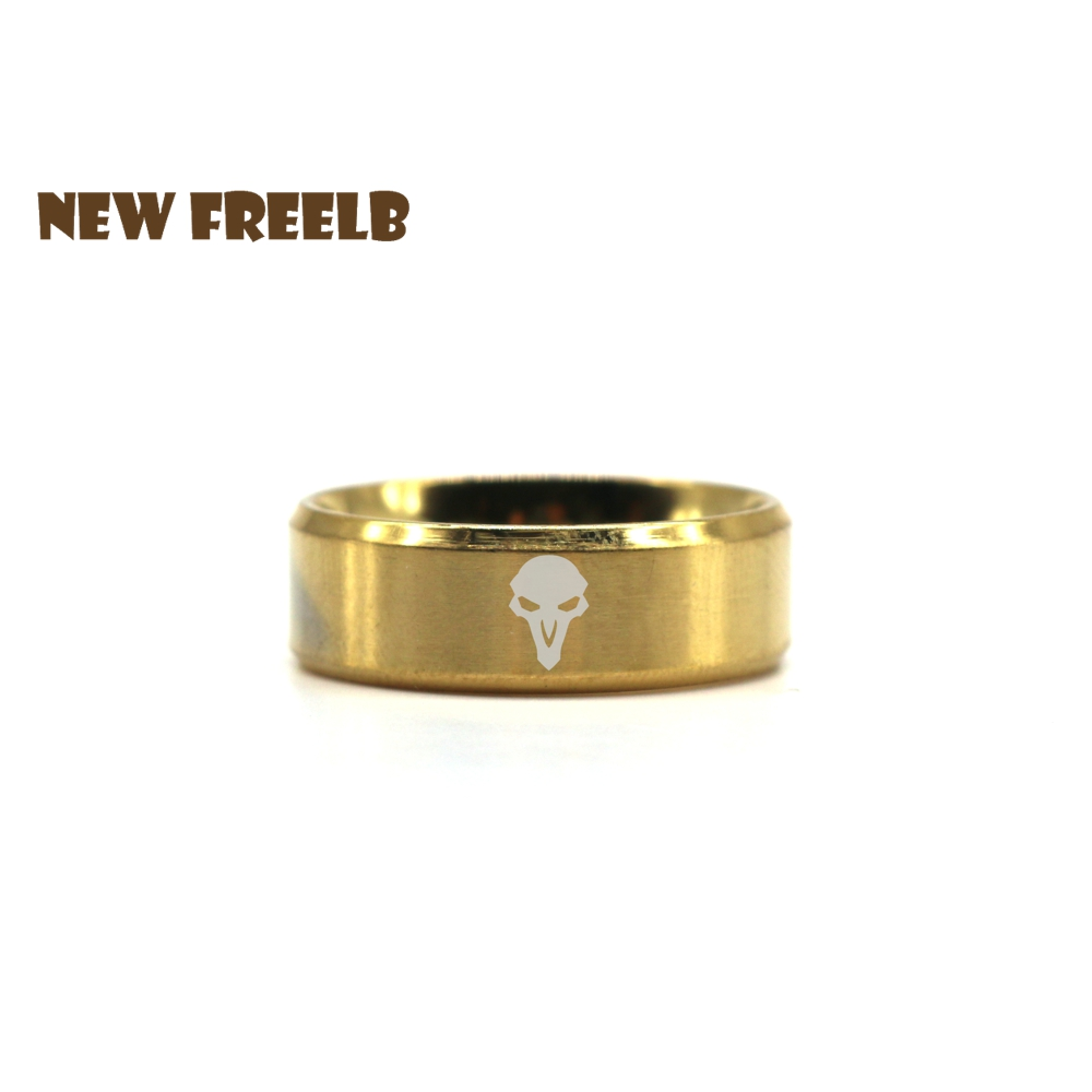 2017 Newest Game Golden Plated Ring Stainless Steel Fashion Jewelry for Friends Women and Men fans