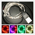1M DC5V USB Cable LED strip light 5050 Christmas Flexible led Strip TV Background Light 3keys Mini Remote TV Fondo Luces Ventana