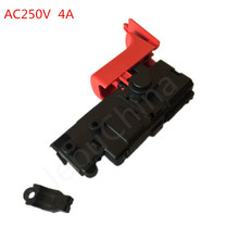 Free Shipping, AC250V,4A, high quality power tools switch replacement for Bosch GBH2-26DRE,GBH2-22/23, Drill hammer switch. high quality electric hammer boutique swing bearing for bosch gbh2 28d dfv gbh3 28dre power tool accessories