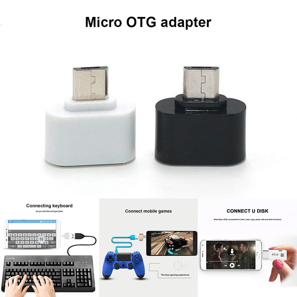 Mini Micro USB Male To USB Female OTG Adapter Converter For Huawei Xiaomi Android Smartphone Tablet SD998
