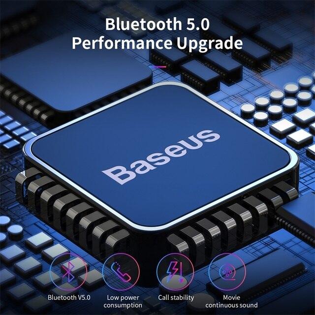 Baseus W01 TWS Bluetooth 5.0 Earphone Headphone With Mic 4
