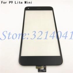 100% протестированный сенсорный экран 5,0 дюйма для HuaWei P9 Lite Mini, сенсорный экран, стекло, дигитайзер, панель, датчик объектива