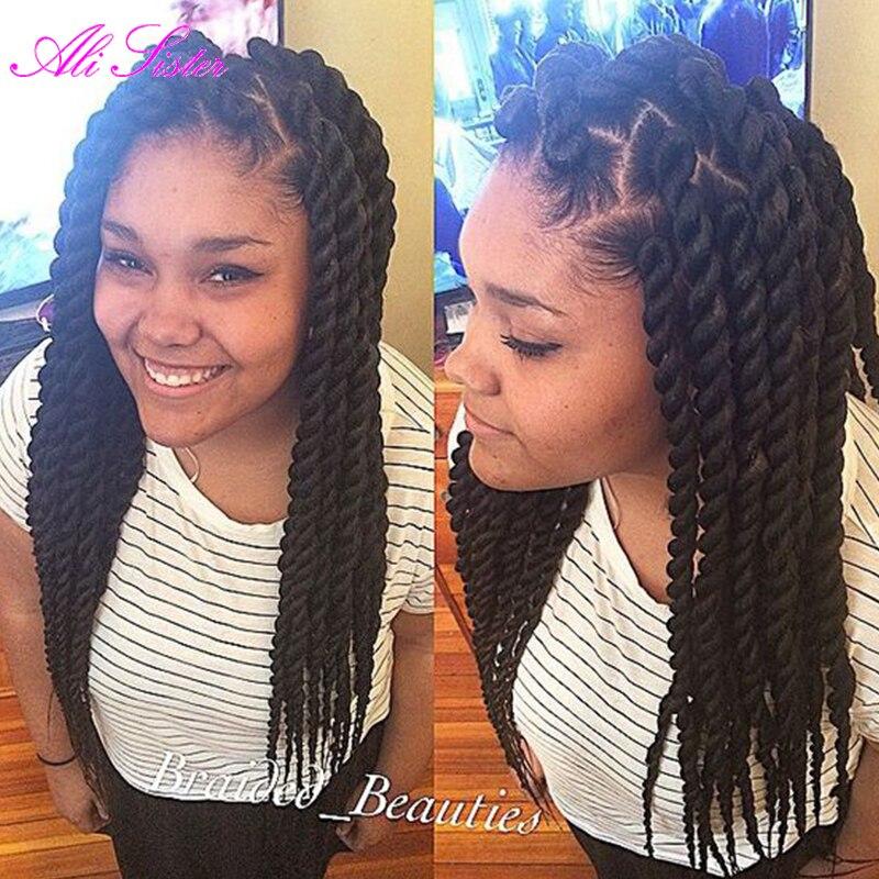 Havana Mambo Twist Crochet Braid Hair Afro Kinky Braiding