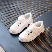 New Fashion Children Shoes Soft Leather Boys Shoes 2017 Spring Autumn Kids Sneakers Girls Casual Shoes