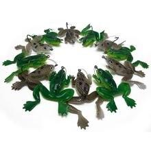 Catchsif 12 шт weedless реалистичные мягкие приманки лягушки