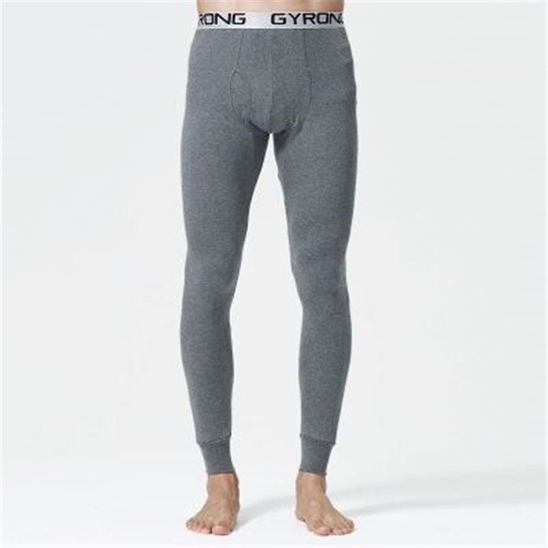 2019 New Autumn And Winter Men  Long  Johns  100% Cotton Thermal Underwear Pants 6 Colors