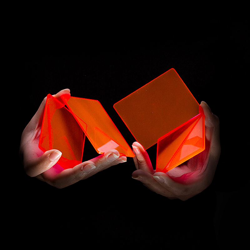 Pièces de Cardistry 8 Pcs/sac Coloré blocs Pratique fleur cut Carte À Jouer Magic Prop Magia Astuces Magicien Aime Poker 82163