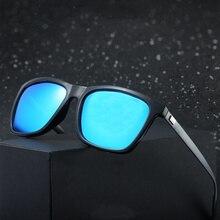 3192fba8fc Reggaeon marca de alta calidad caliente cuadrado gafas de sol hombres  conducción de polarización retro gafas de magnesio y alumi.