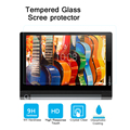 """10"""" Best premiem 0.3mm 9H Tempered Glass film for Lenovo YOGA Tab 3 10inches tablet HD film Anti-shatter Screen Protector film"""