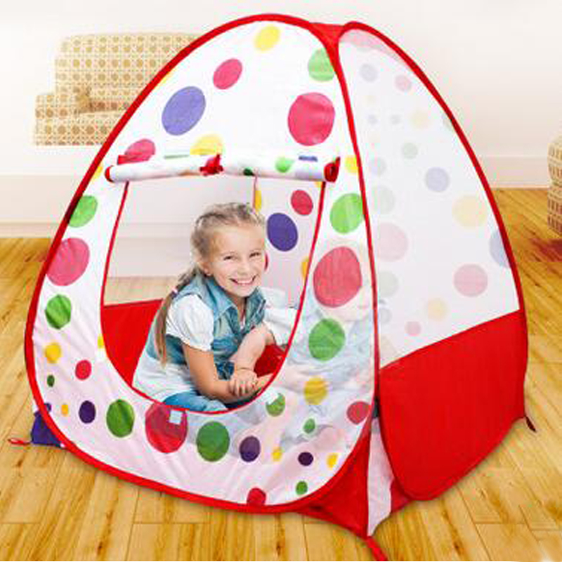 Play Tent Safety Tents For Children's Tent With Basketry Kids Play Tent  Mesh Indoor Stress Ocean Ball Pool Play Yard