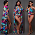 """2017 African Clothing Riche Direct Selling Polyester Women Clothing The New Autumn Printing Ink Sexy Substitutes """"women Thanks"""