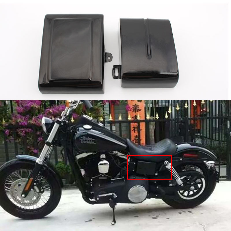 Motorcycle Battery Cover Guard Side Frame Faring For