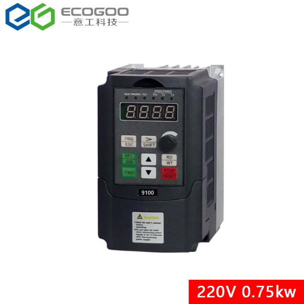 AC 220 V 5A 0.75kW convertidor de frecuencia Variable Unidad de frecuencia VFD controlador de velocidad inversor frase única frecuencia inversores