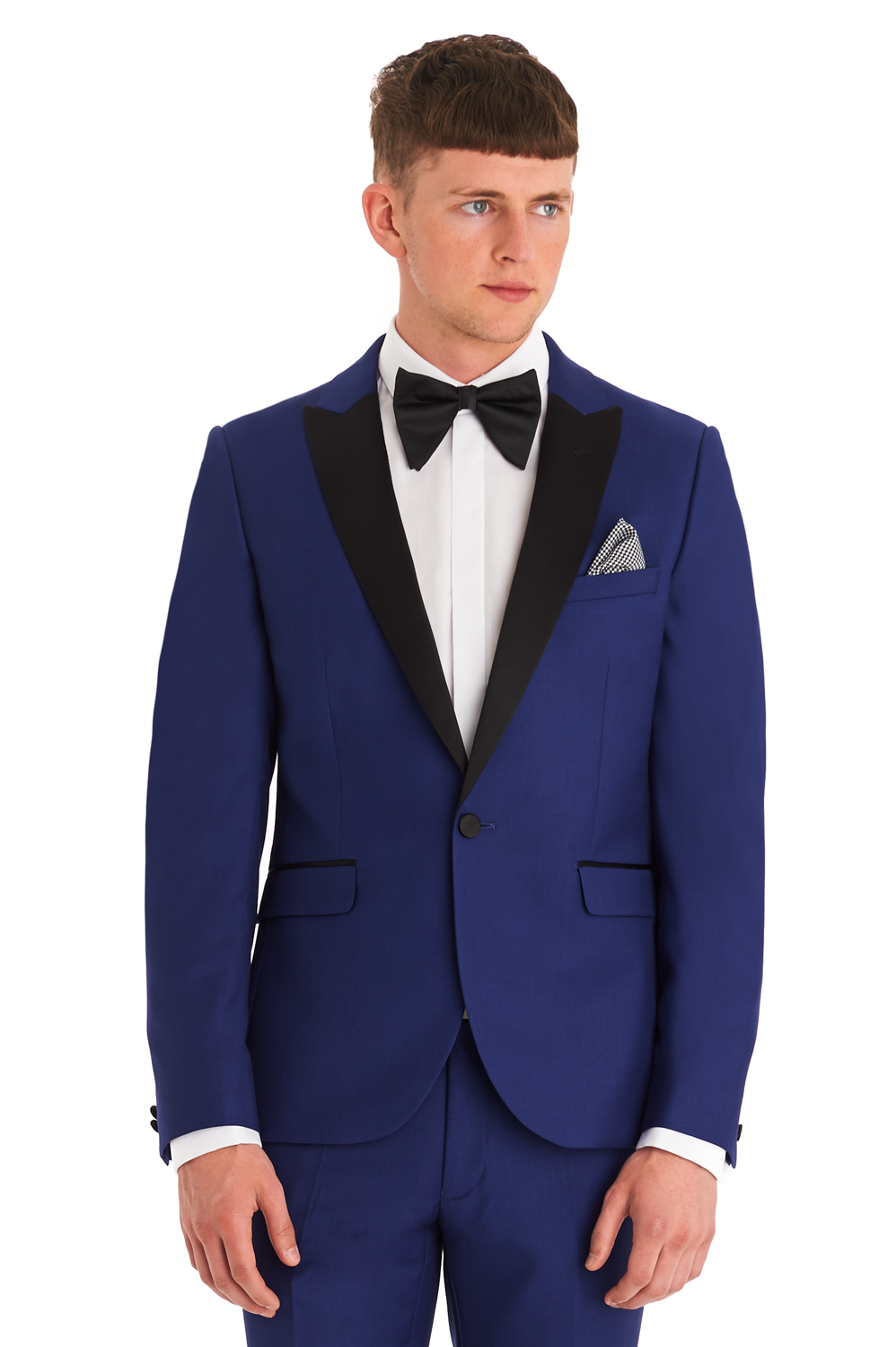 4.1 2015 Fashion Bridegroom Blue Dinner jacket Prom suits men suits ...