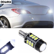 BOAOSI 1x Canbus LED T15 W16W Car LED Backup Reverse Lights For Hyundai ix20 ix35 ix55 Matrix Santa FeII Tucson Veloster Solaris
