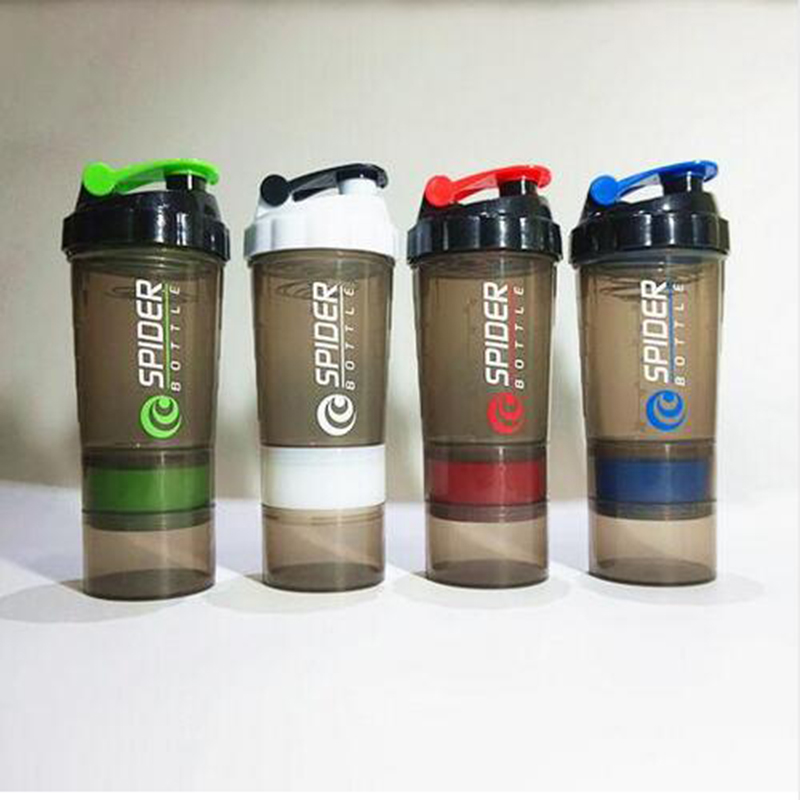 Protein Shaker Dw Sports: Protein Shaker Blender Mixer Bottle Sports Fitness Gym 3
