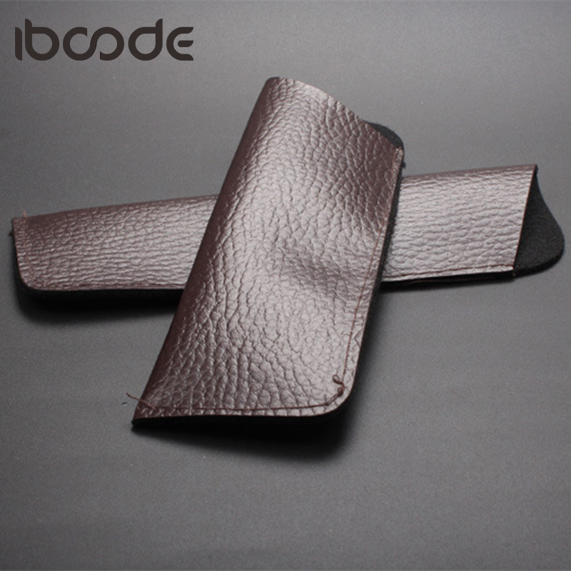 Iboode New Fashion Spectacle Leather Carry Bag Case Women Men Reading Glasses Box Eyewear Glasses Case Eyewear Oculos Pack