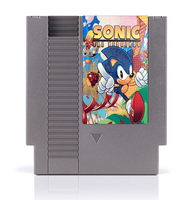 Sonic the Hedgehog 8 Bit Game Card for 72 Pins Game Consoles